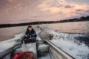 Båtkörning